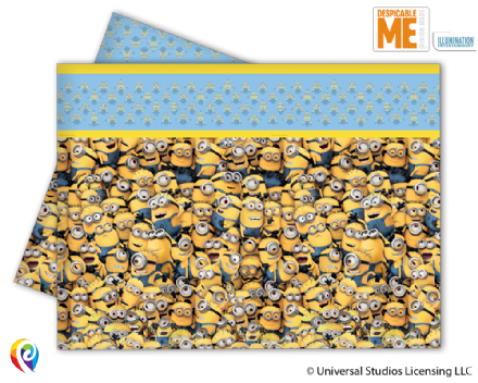 1 Minion Plastic Tablecover